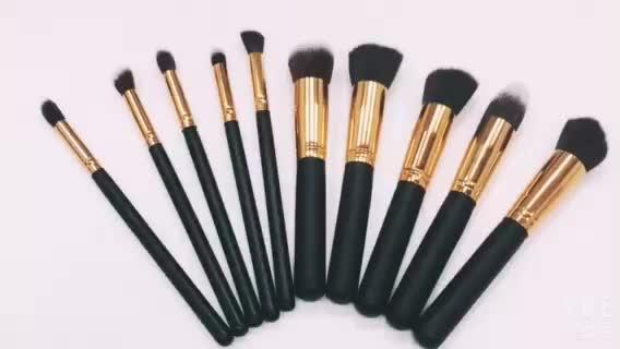 Fondation De haute Qualité Pinceau De Maquillage 10 Pièces Maquillage Brosse Ensemble