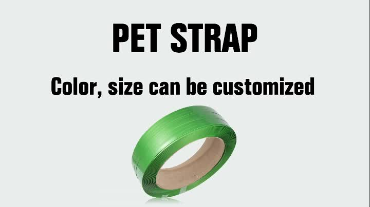 ZONESUN manual packing PET plastic straps manufacturer supply