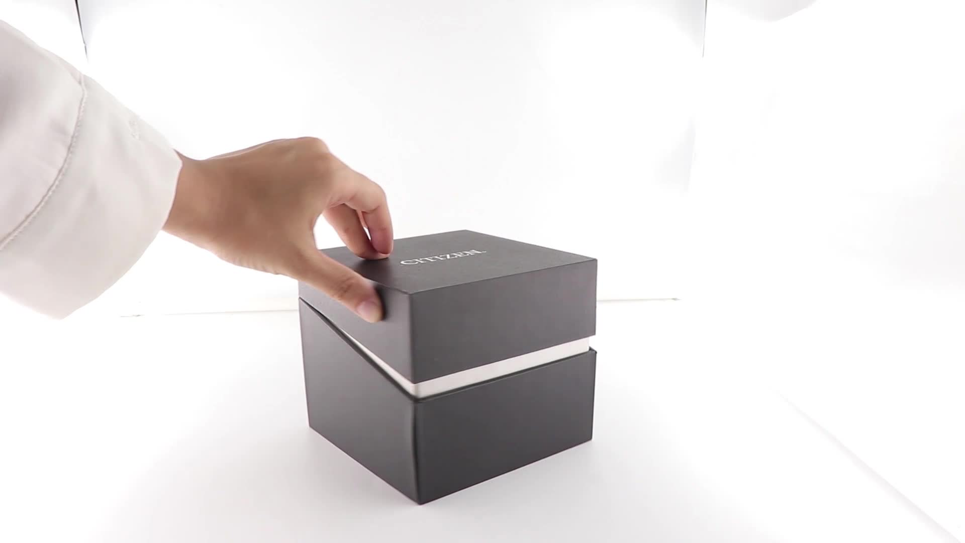 100 米ドル取得クーポン高品質ロゴプリント高級カスタマイズされた紙腕時計のギフト包装ボックス