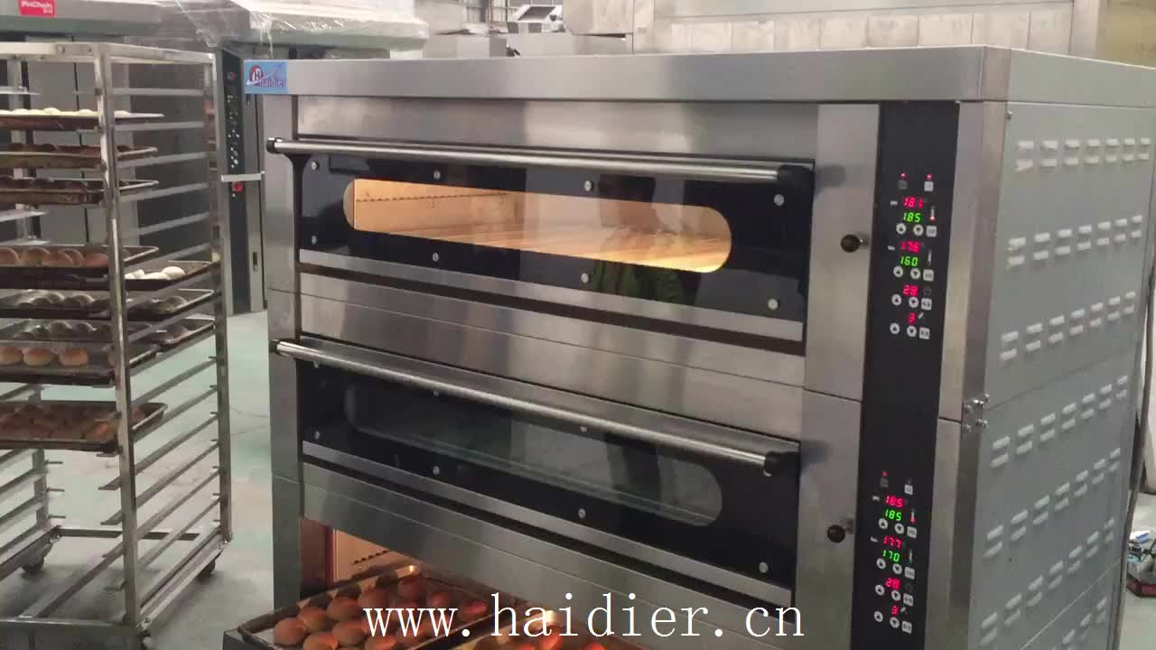 Electric Bread Making Machine Deck Oven With Steam Buy