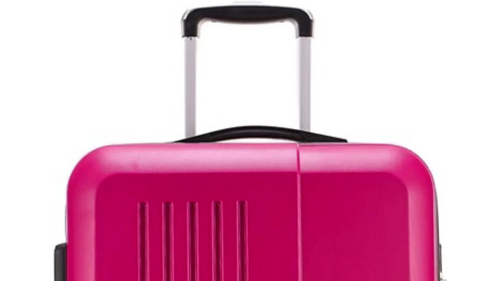 Woman Trolley Luggage Bag Suitcase Set