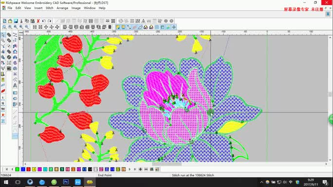 Richpeace Welcome Embroidery Design System Professional Cad