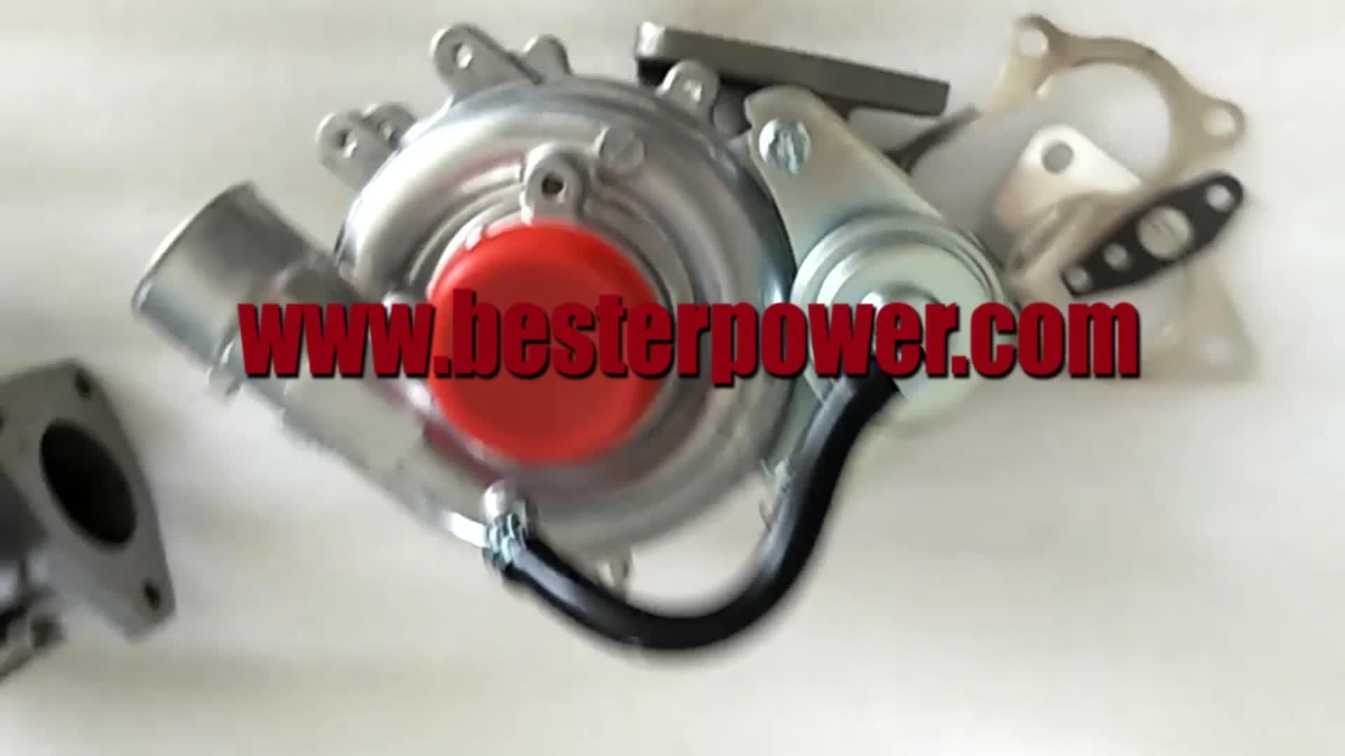 Turbocompressor 17201-30120 turbo para TOYOTA Hilux Hiace 2KD 2KD-FTV 2.5L D4D 4WD 2001-