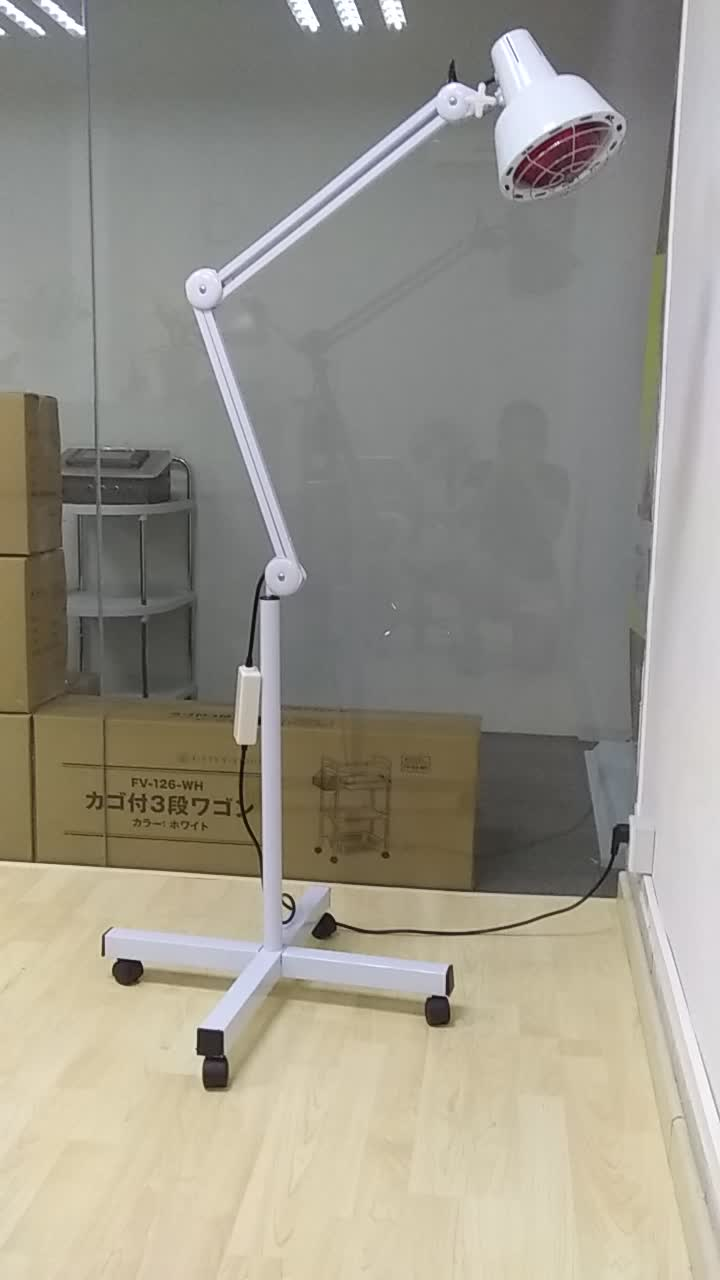 Physical therapy apparatus 100-275W adjustable heating infrared lamp
