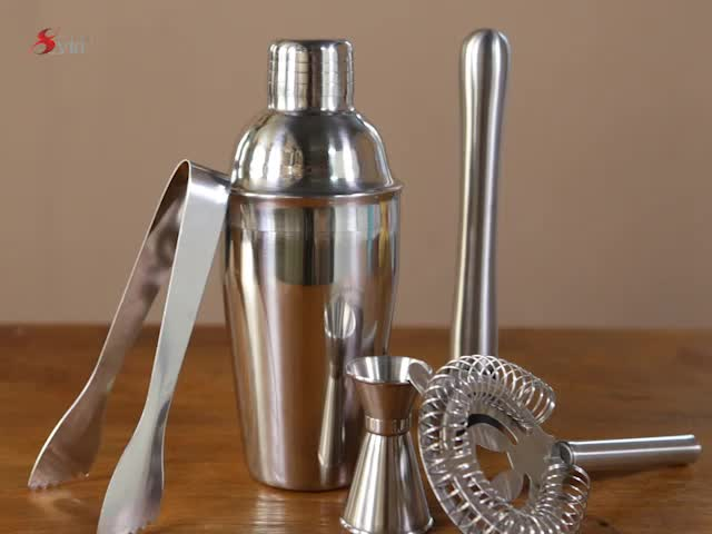 New Design Of Bar Set And Restaurant Popular Used cocktail shaker and jigger