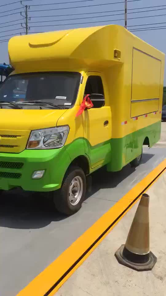 High Quality chinese mini mobile food truck for sale