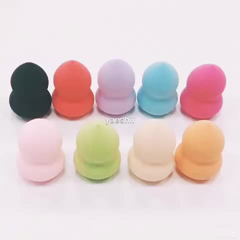 yaeshii Various Shape Soft Smooth Blender Makeup Foundation Powder Sponge Puff