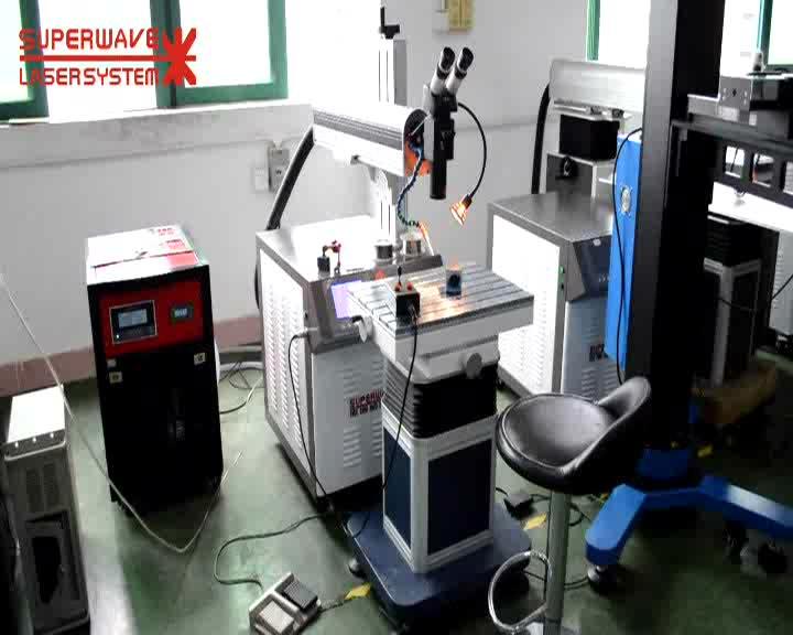 Mobile arm laser welding machine for mould repair laser welder