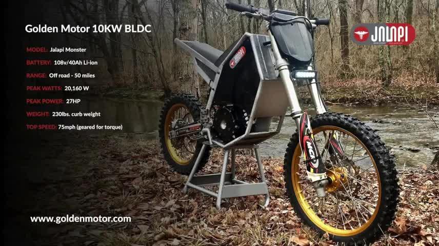 محرك كهربائي BLDC 5000 وات عدة تحويل الدراجة النارية/محرك كهربائي متوسط الحركة ووحدة التحكم PLN17125
