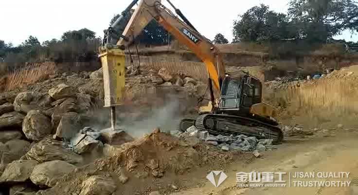 hydraulic breaker jack hammer for excavator