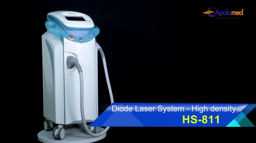 Factory price 808 diode laser painless and permanent hair removal machine