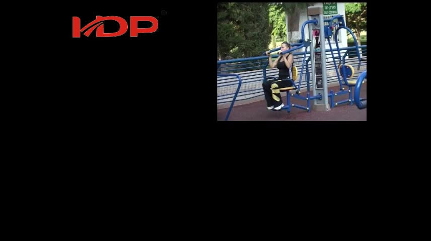 ステンレス鋼公園ジムスポーツエクササイズボディトレーニング屋外フィットネス機器