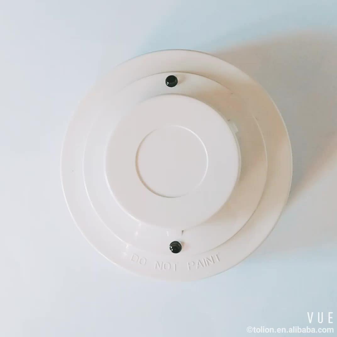 2/4 Wire Factory wholesale Smoke Alarm Smoke Detector