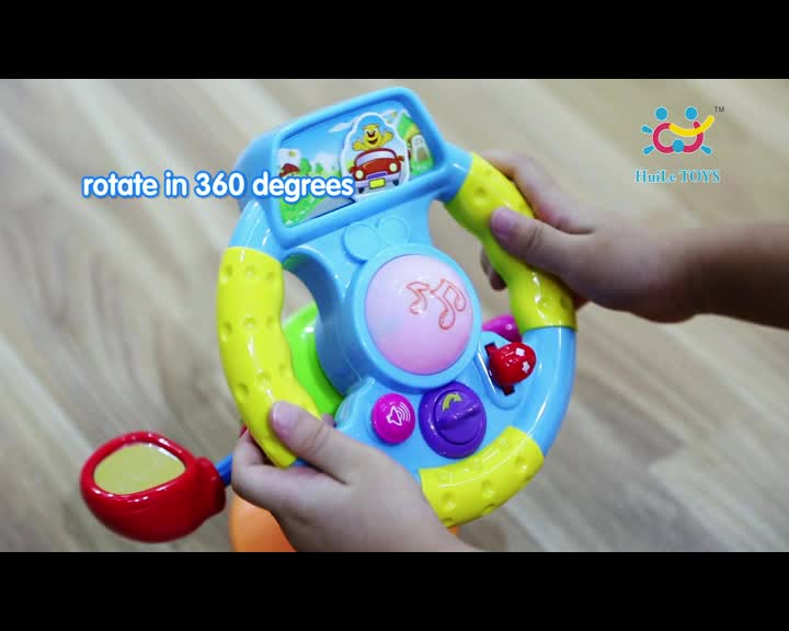Huile toys wholesale toy from china steering wheel toy with EN71