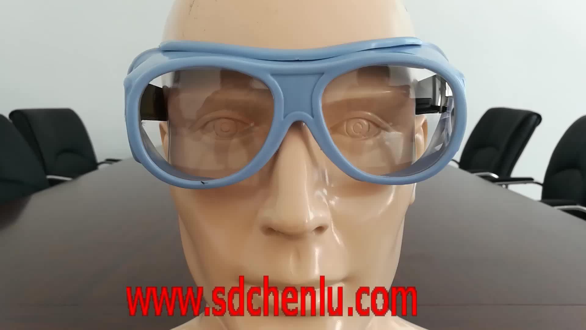 X-ray Kacamata Memimpin dengan seluruh pelindung