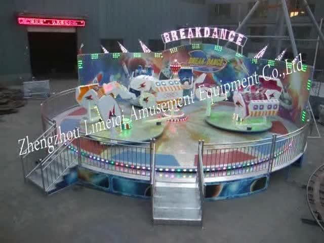 Juegos diversión productos romper Danza, baile loco niños equipo del parque de atracciones