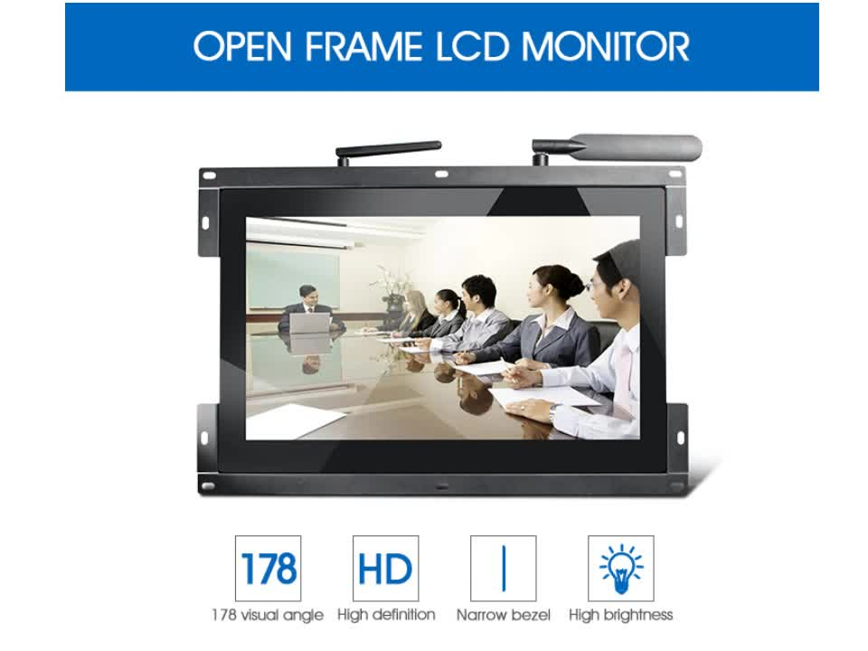 wifi wireless digital signage 156 inch wifi digital photo frame1562t - Wireless Digital Picture Frame