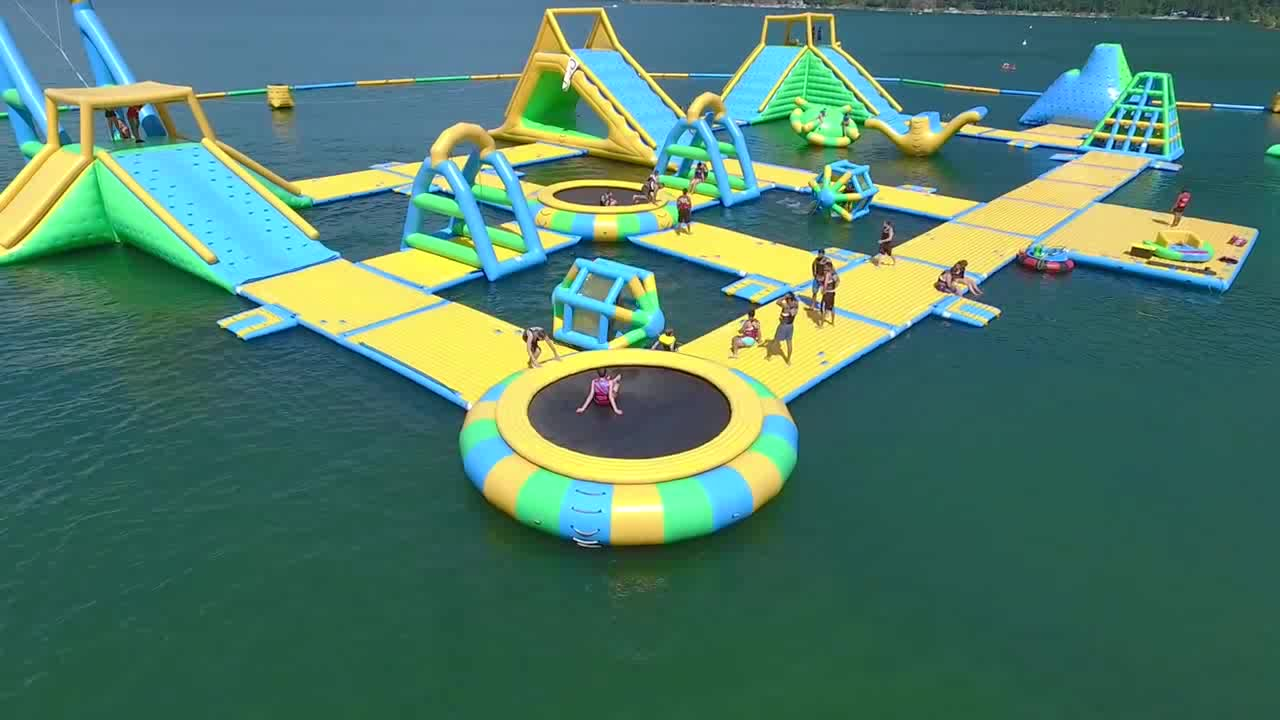 Outdoor Water Toys Product : Harrison inflatable outdoor water theme park manufacturer