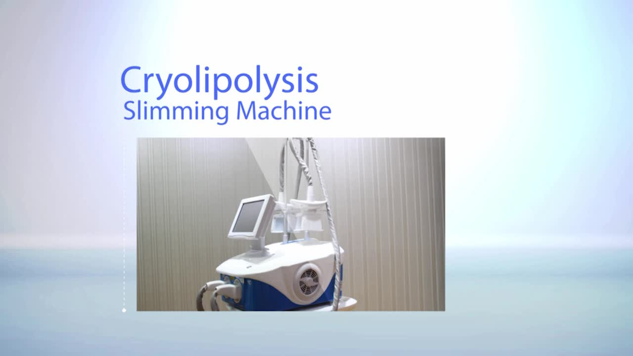 Anybeauty hot sale portable body slimming 2 handle cryolipolysis machine for sale