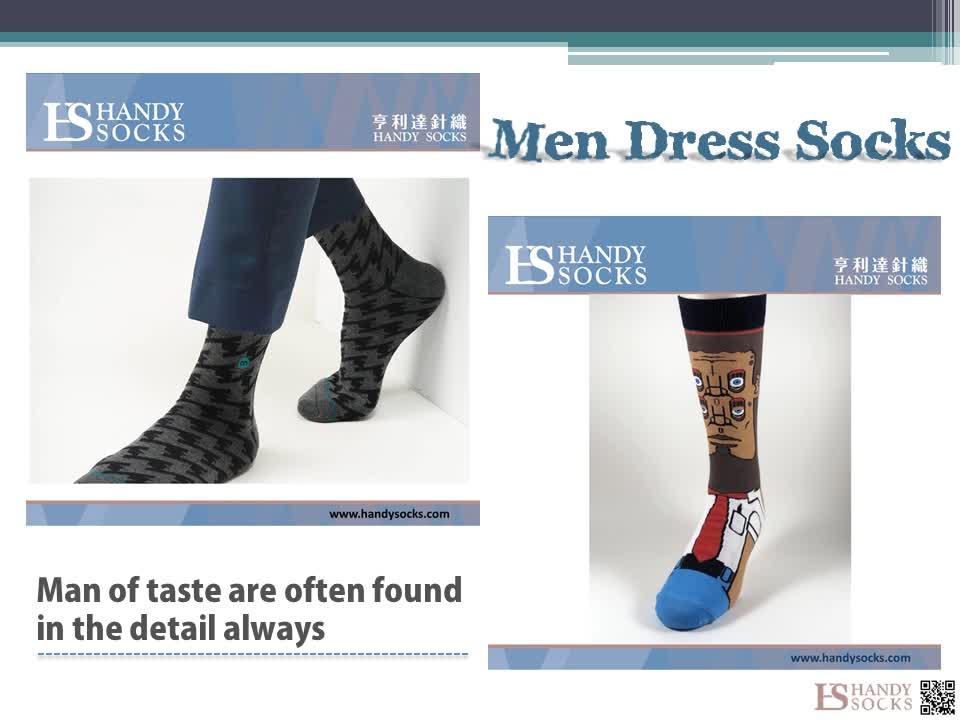 OEM Custom Crew Design Dress Men Male Colorful Fashion Best Bulk Casual Logo Crazy Fancy Novelty Odd Suit Funny Luxury Socks