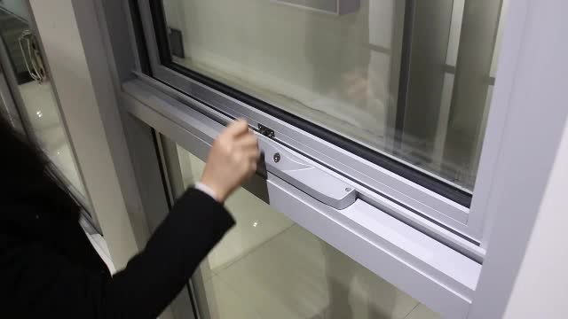 China product fire rating chain winder aluminum frame toughed glass windows for motorhomes