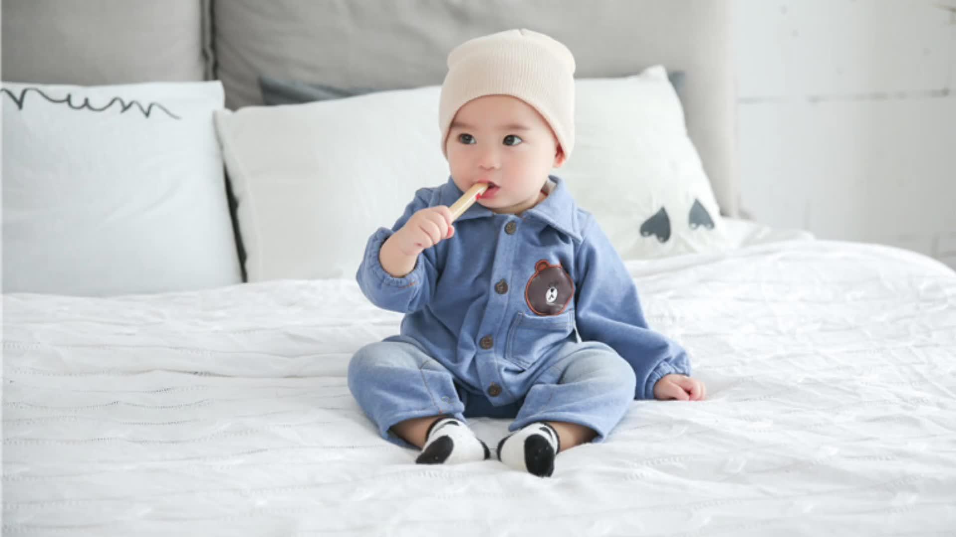 SEVWEN Gros bébé vêtements 1-3ans 100% coton Carters vêtements pour bébés