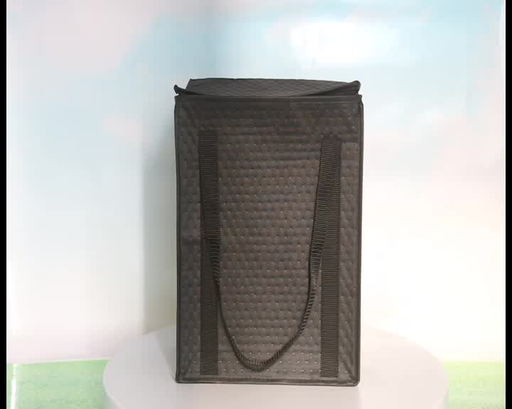 non woven picnic bottle wine insulated lunch cooler bag