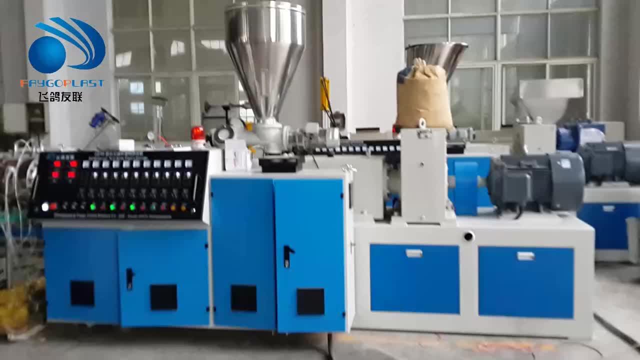 Zhangjiagang PE PP PPR Plástica Da Tubulação de PEAD Extrusão Que Faz A Máquina para venda