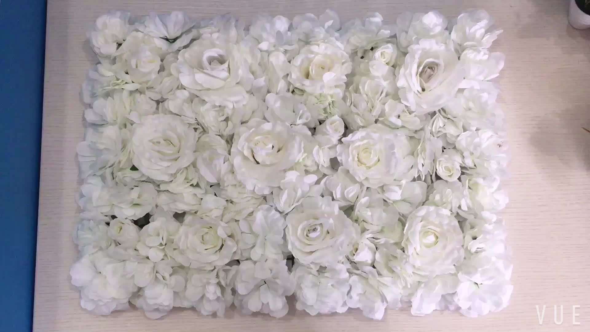 ZERO Silk Artificial Rose Flower Wall Flower Mat Fabric Hydrangea Artificial Flower Wall
