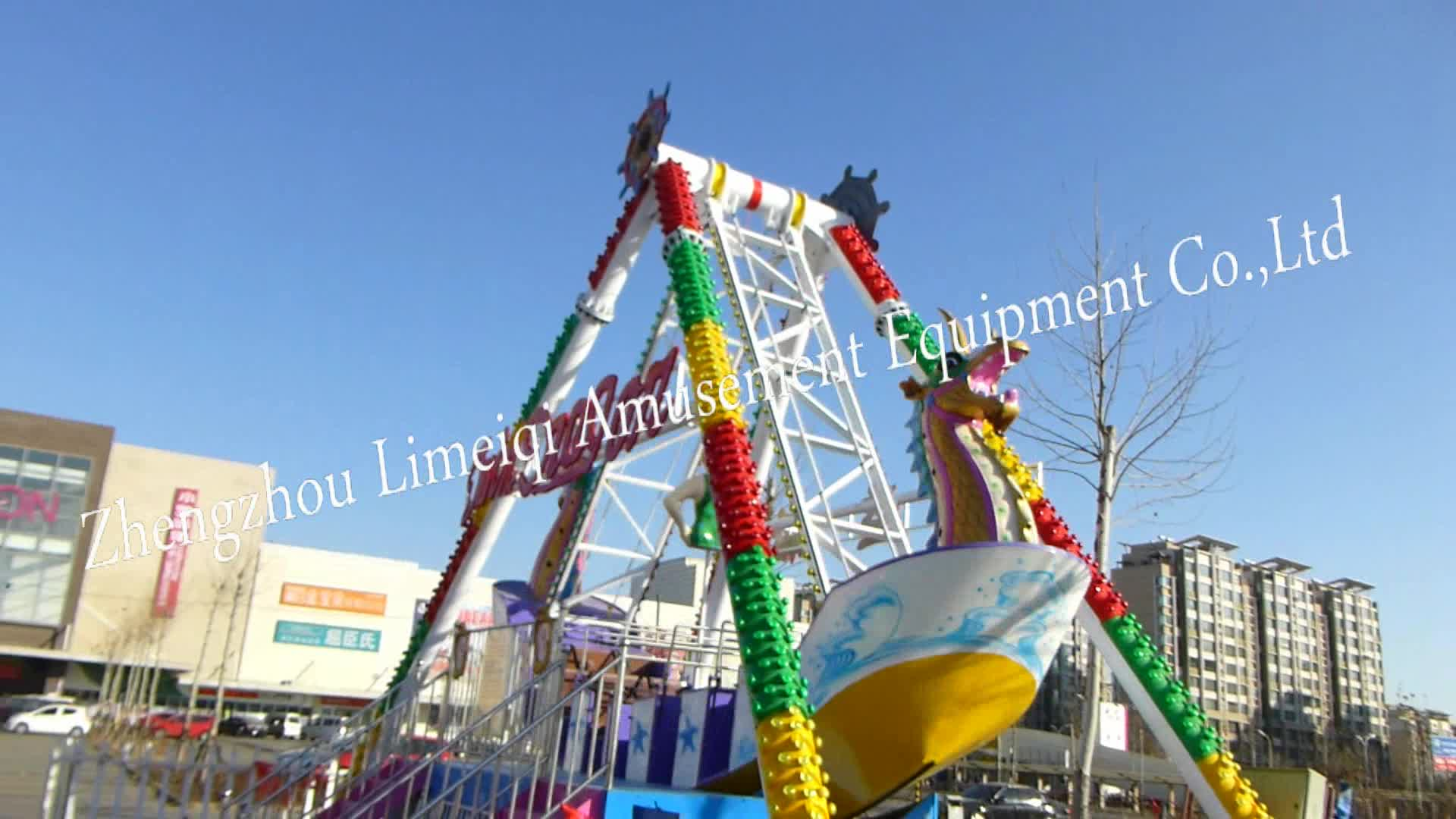 China Supplier Amusement Park Rides Sale Viking Ship Swing Ship Pirate Boat