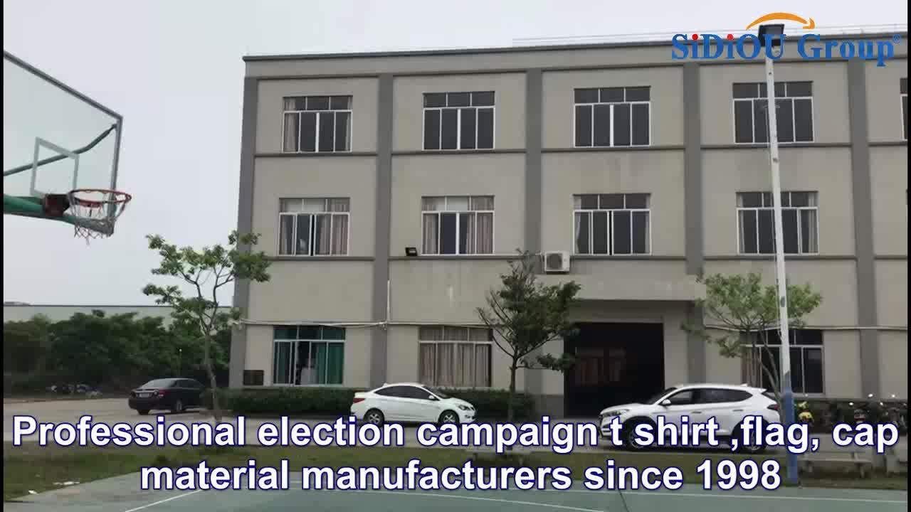 カスタマイズされたプロモーション政治安い選挙キャンペーン Tシャツ