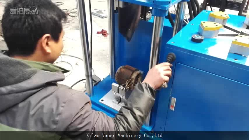 High efficient waste electric motor rotor recycling for Electric motor recycling machine