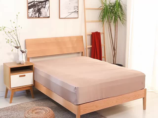 100% Pure Bamboo Bed Sheets/bamboo Fiber Fabric Wholesale Bed Linen ,  Bedding Set