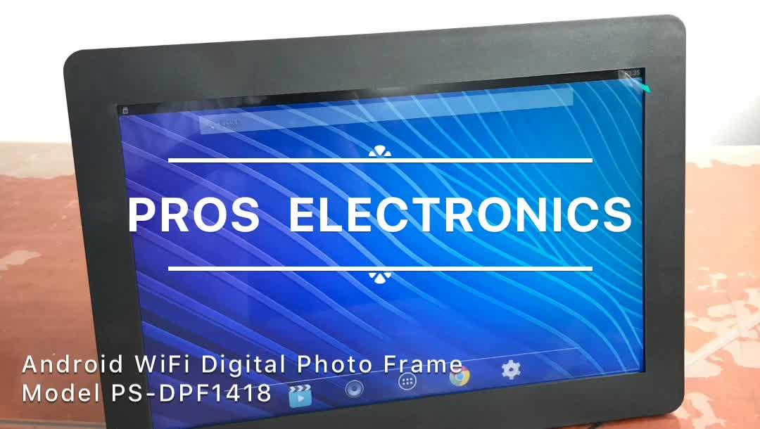 Новые 14 дюймов андроид сенсорный экран цифровая рамка для фотографий с рекламы централизованного управления программным обеспечением
