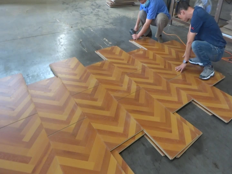 Russian Oak Beam Laminate Flooring 11mm German Made