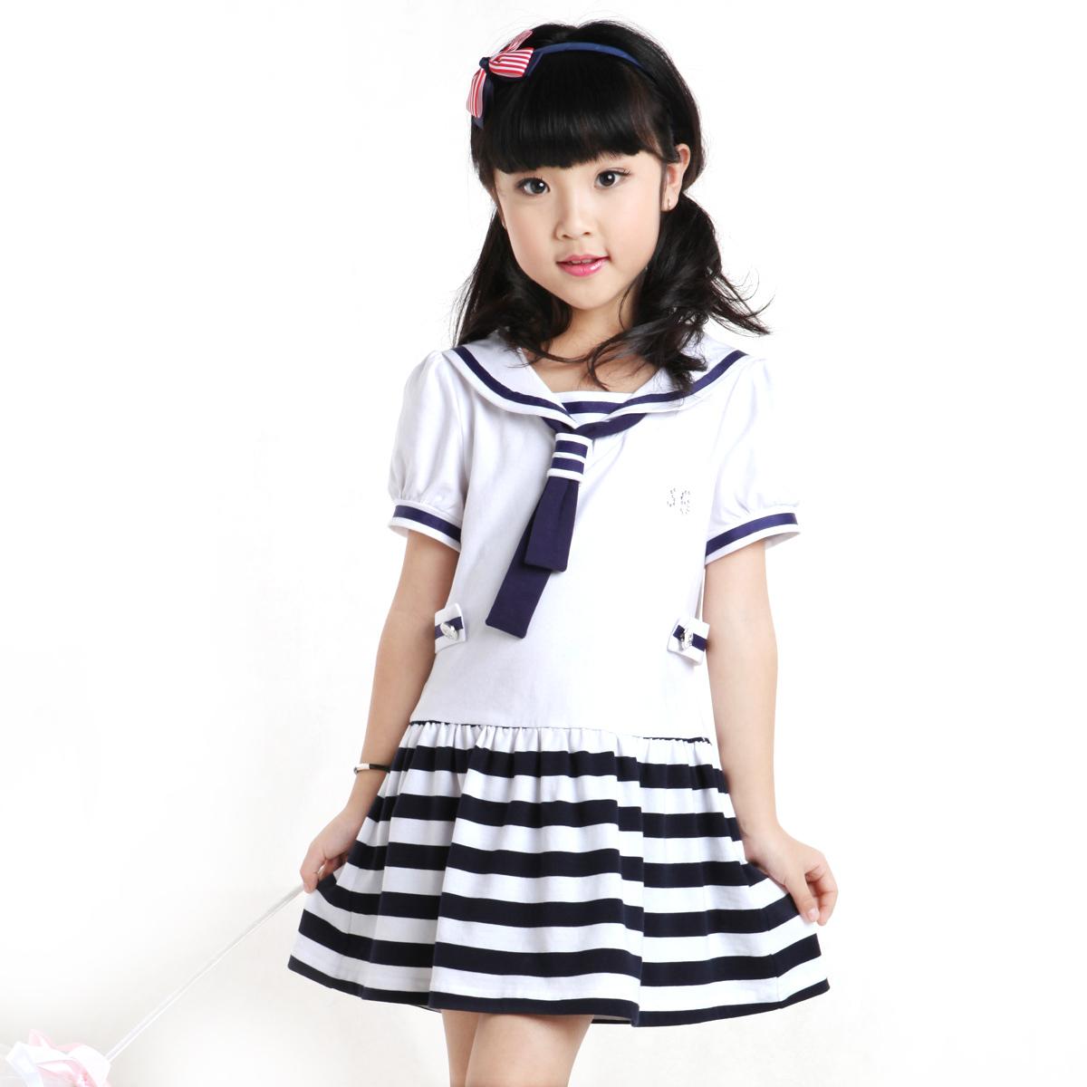 学生连衣裙12-14岁女童夏连衣裙十岁女孩夏装