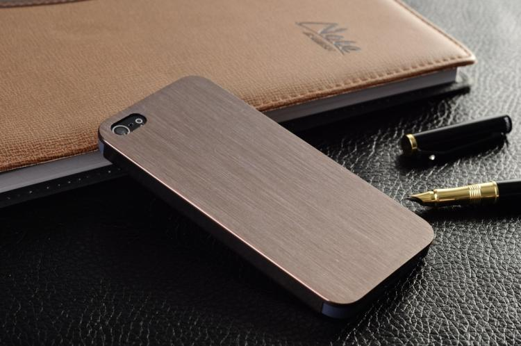 Apple чехол Super Thin Metal Hard Case Cover For Apple Iphone 5s