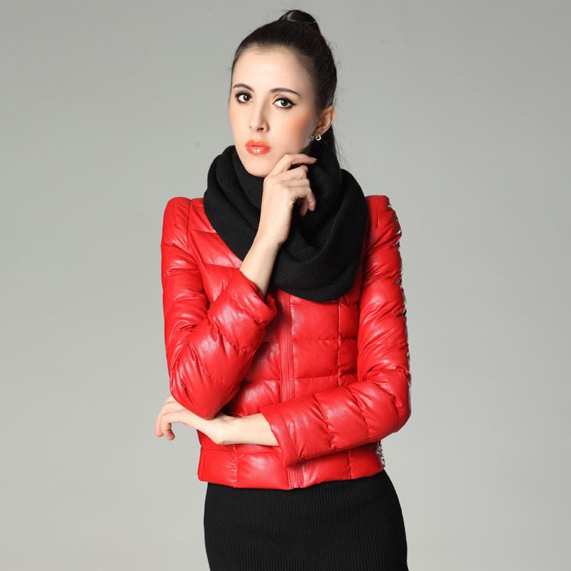 Женская утепленная куртка Autumn Moon qs1267 PU 2013