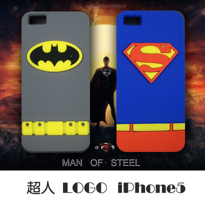Apple чехол False pass Superman LOGO Iphone5 False pass Силиконовый чехол