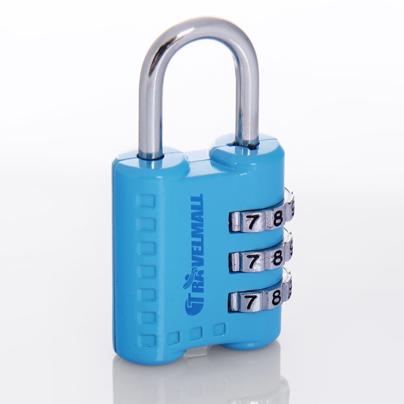 Suitcase luggage lock combination lock padlock steel gym mini password password lock lock locks
