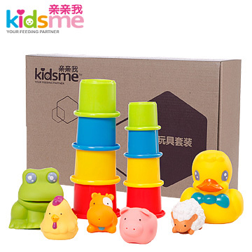Kiss me baby bath toys, baby swimming Toy Gift Set Free shipping children's swimming 908958