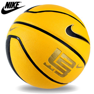 Black Yellow NIKE authentic Nike Basketball National email outdoor outdoor cement basketball match ball