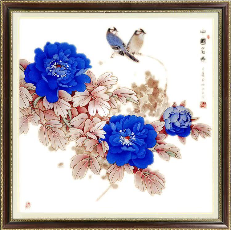正品kec精准印花十字绣大幅新款客厅系列中国风景水墨画 梦里水乡 (74图片