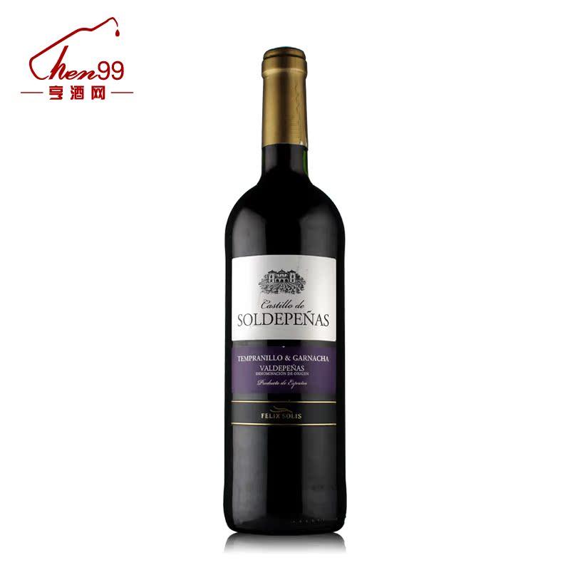 亨酒西班牙原瓶进口正品红酒结婚用酒婚庆酒 欧娜庄园干红葡萄酒