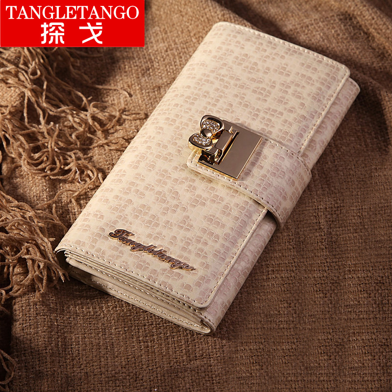 Tango in 2013 new wave Korean cute Lady bow original wallet wallets long wallet clutch bag