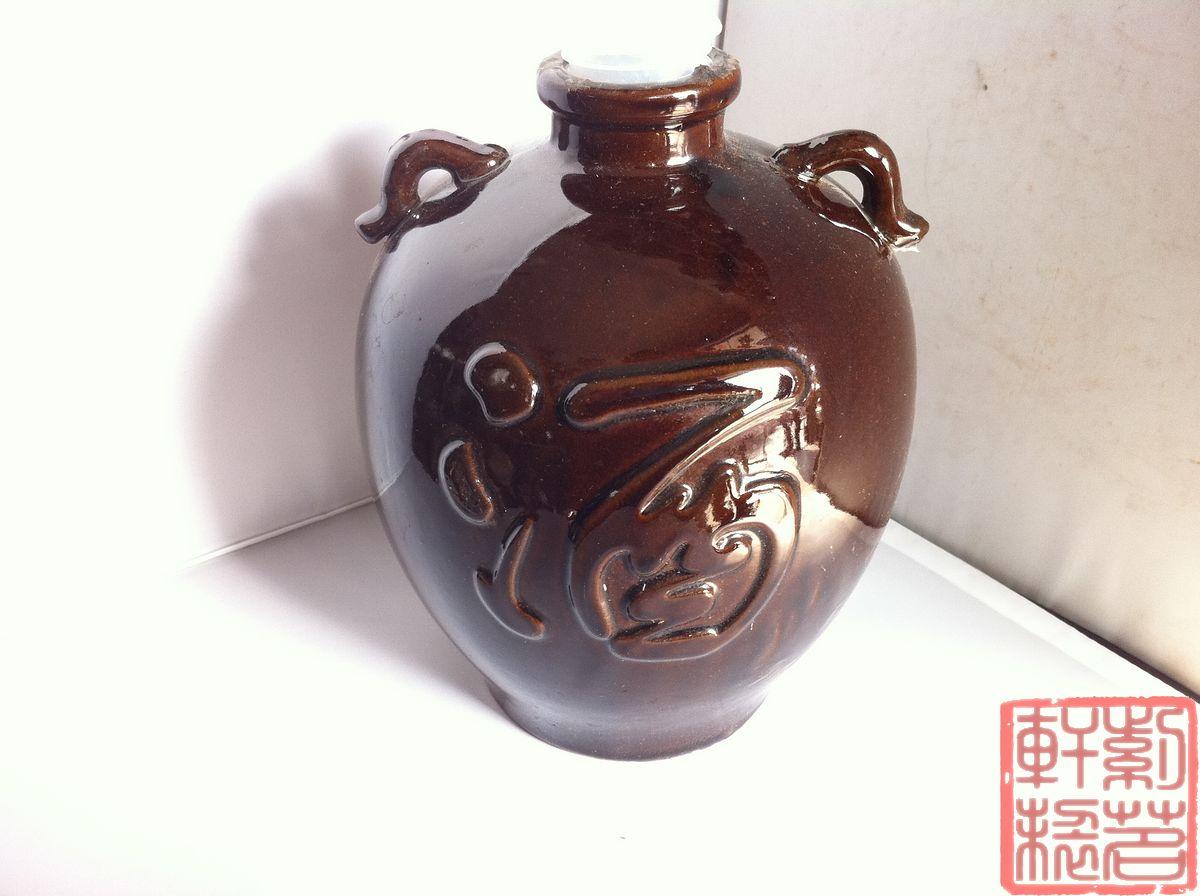 Керамика Пять фунтов Упакованные банок/авторской исинская керамика 2,5 кг вина бутылки/уши пять фунтов и заполнить банки