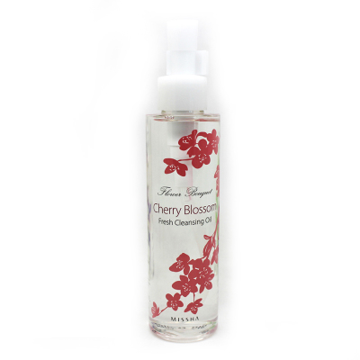 Missha mystery still floral Cleansing Oil (cherry) 150ml professional makeup counter genuine fans still do not stimulate