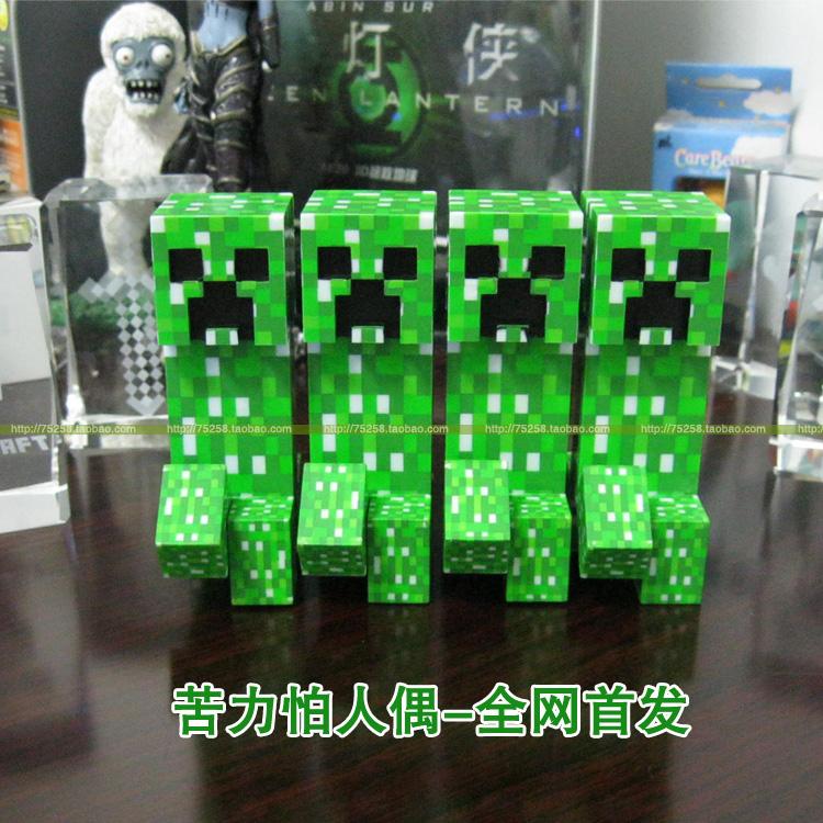 Персонаж из мультфильма   Minecraft Creeper MC JJ