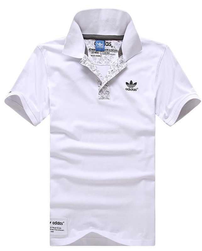 Рубашка поло Adidas 1603 2013 Для мужчин 100 хлопок Стандартный Короткие рукава ( ≧35cm ) Логотип бренда, Вышивка % Для спорта и отдыха