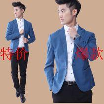 新款新品时尚休闲长袖小西装西服 男 折扣特价修身型韩版团购单西 价格:149.00